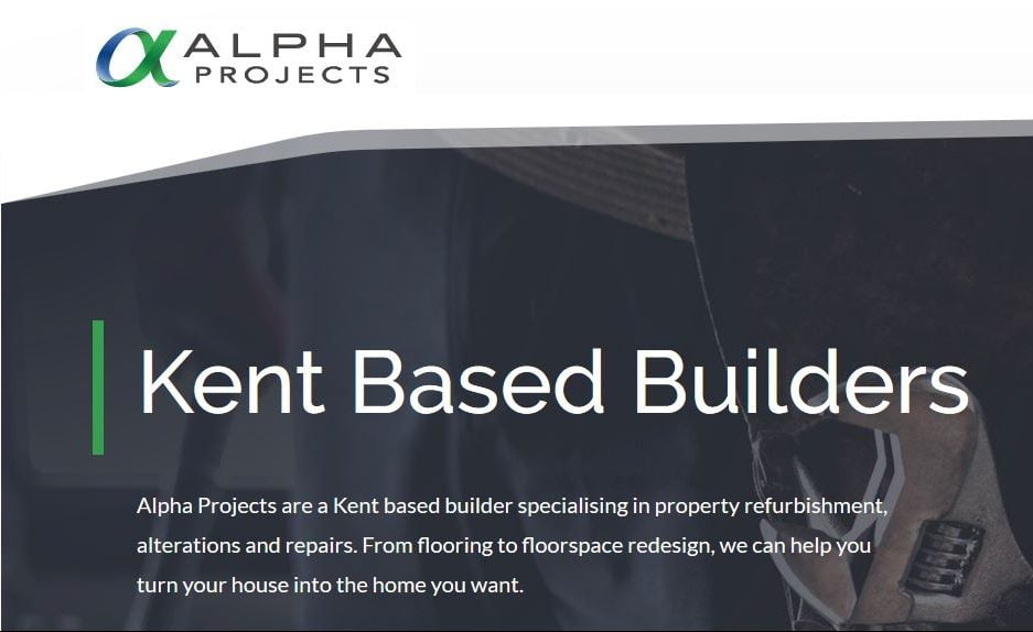 Alpha Projects Website