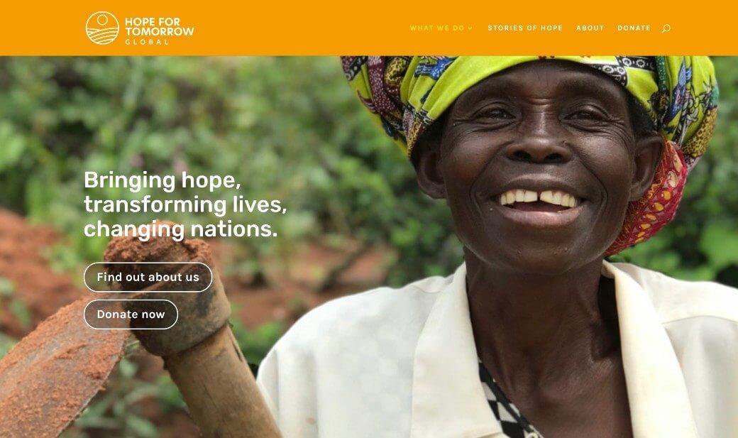 Hope For Tomorrow Global Charity